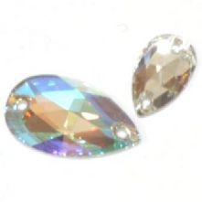 Swarovski Pear Shaped Sew-On Crystals in 2 sizes